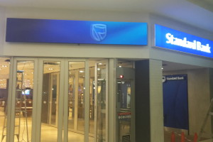 Standard Bank LED Screens