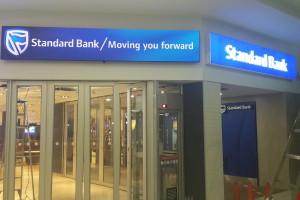 Standard Bank LED Screen (Entrance)