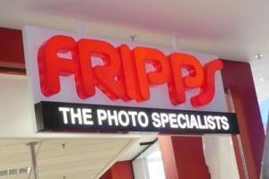 Signkor built Fripps  Signage
