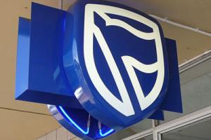 Signkor built The Standard Bank Signage