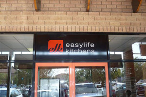 Signkor built Easylife Kithens Signage