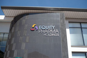 Signkor built Equity Pharma Holdings Signage