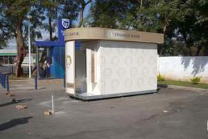 Signkor built Finance Bank Signage