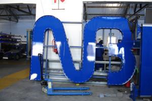 Signkor built National Bank Signage