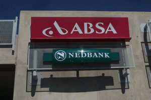 Signkor built Nedbank Signage