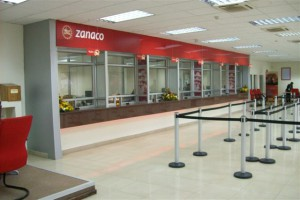 Signkor built The Zanaco Bank Signage