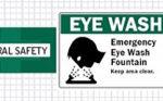 Eye Wash Signage